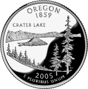 USA:  25 Centów / 2005 r. - Oregon (nr 33)