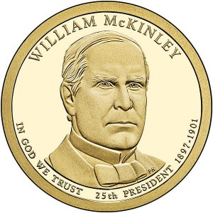 Prezydenci USA - 1$ / 2013 r. - William McKinley (nr 25)
