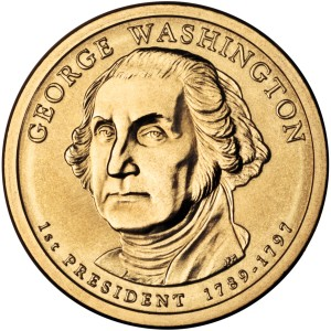 Prezydenci USA - 1$ / 2007 r. - George Washington (nr 1)