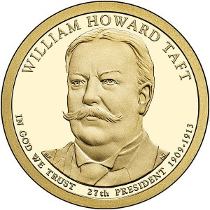 Prezydenci USA - 1$ / 2013 r. - 	William Howard Taft (nr 27)