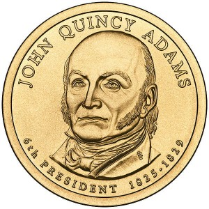 Prezydenci USA - 1$ / 2008 r. - John Quincy Adams (nr 6)