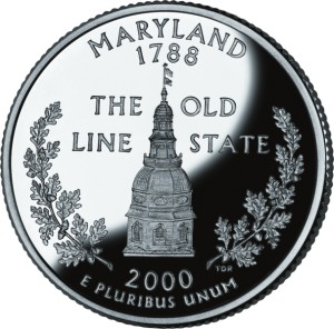 USA:  25 Centów / 2000 r. - Maryland (nr 7)